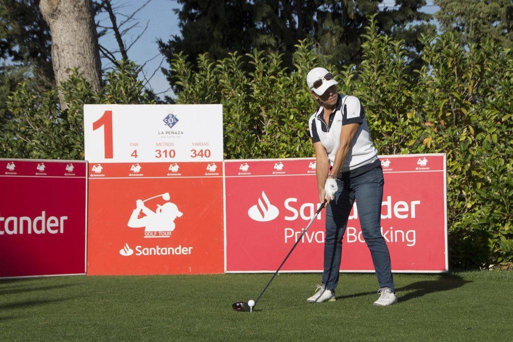 Raquel Carriedo jugó el Santander Golf Tour 2019