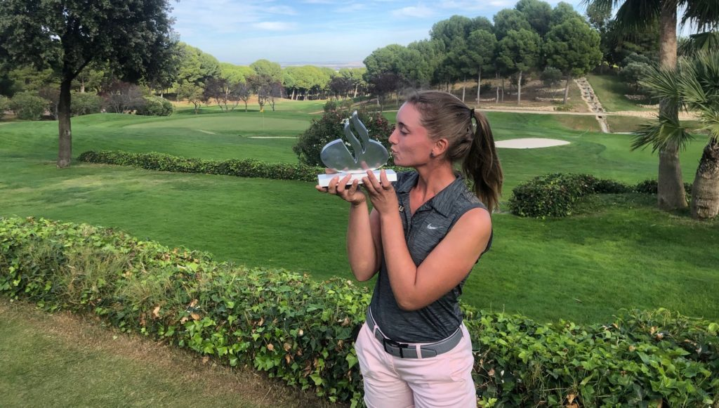 Laura Gomez campeona santander golf tour 2019