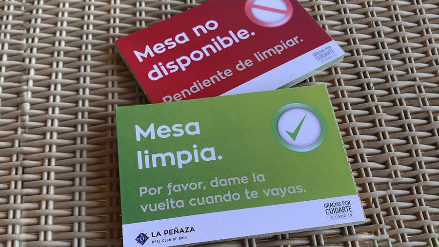 indicadores mesa limpia en La Peñaza